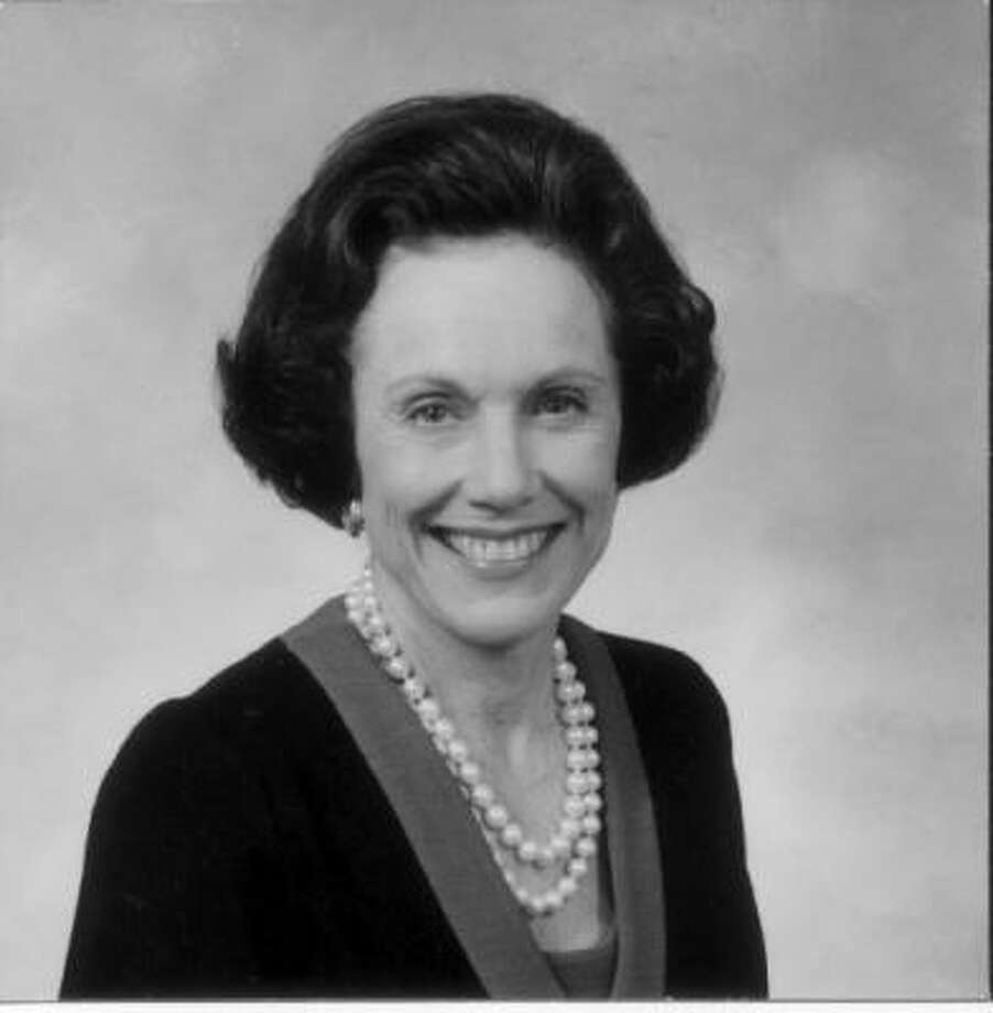 Former U.S. ambassador to Great Britain Anne Armstrong is shown in an undated file photo. Photo: Texas A&M
