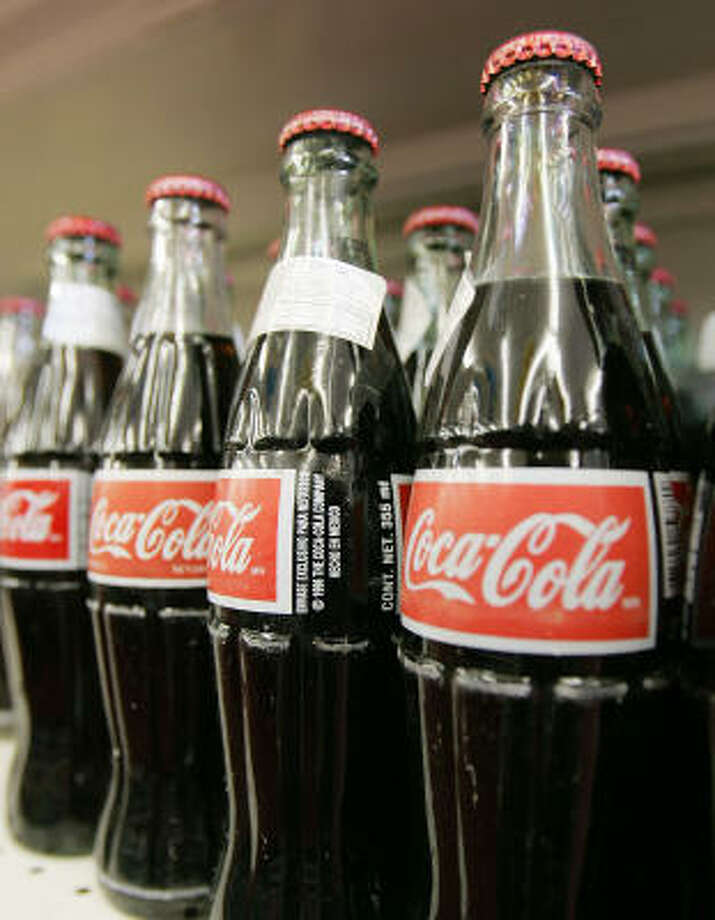 Cane sugar used to sweeten Mexican Coca-Cola is more expensive than HFCS. Photo: RIC FELD :, ASSOCIATED PRESS