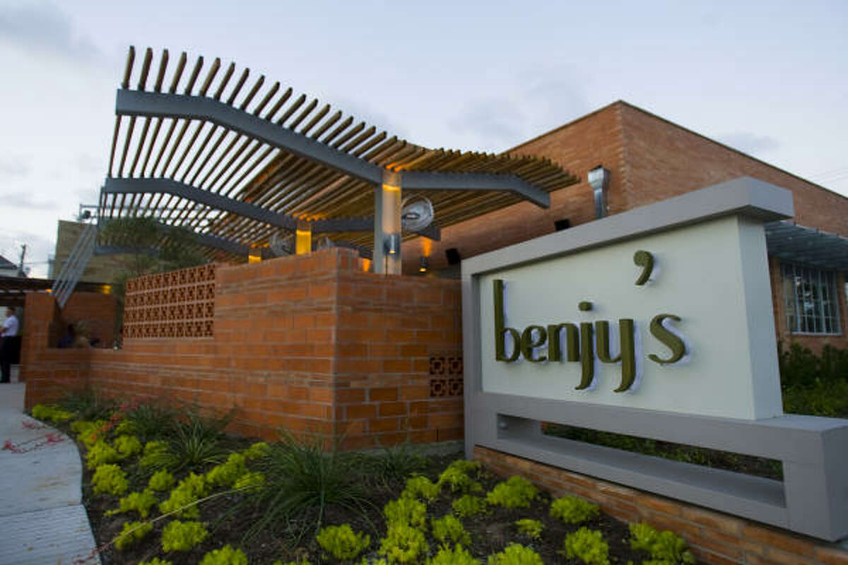 Benjy's on Washington,5922 Washington Ave. Phone:713-868-1131 Hours: 11 a.m. to 3 p.m. The Rice Village location will be closed, but the Washington Corridor outpost will be serving athree-course, prix-fixe menu for $40 per person, not including beverages, tax or gratuity. Garlic Herb Turkey Breast (with Steen's cane glaze) will be served for carnivores, and Herb Crusted Tofu Steak will be available for vegetarians.