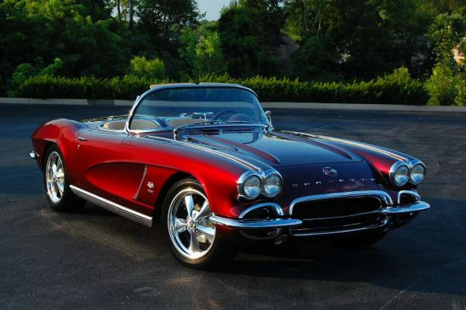 $umday is a customized 1962 Corvette.