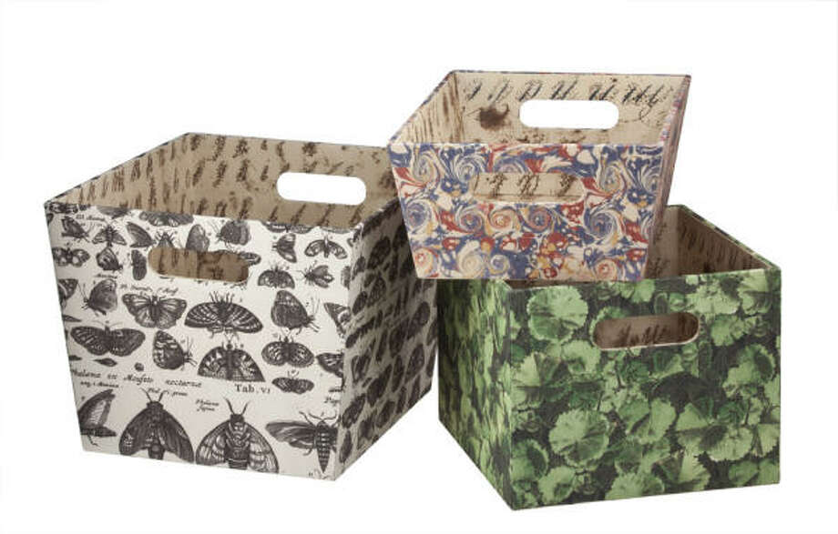 John Derian storage bins Photo: Target