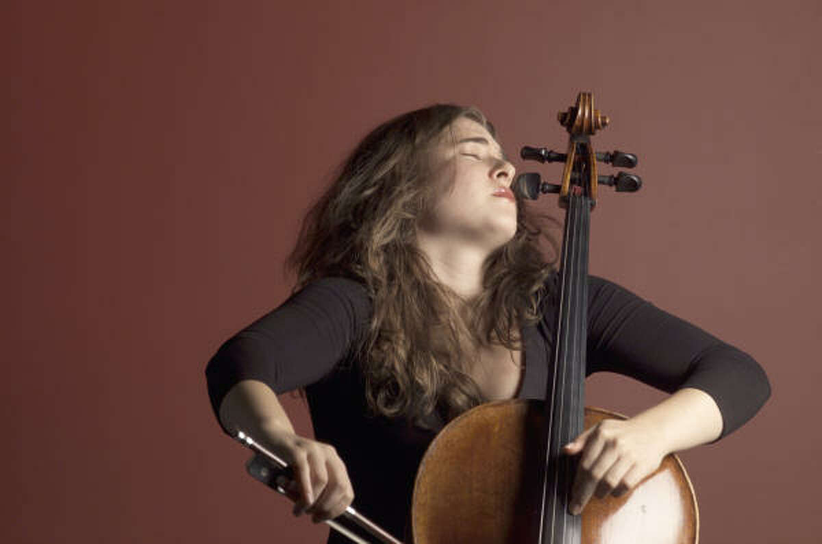 Cellist Alisa Weilerstein has been hailed for her impassioned musicianship and expressive range.