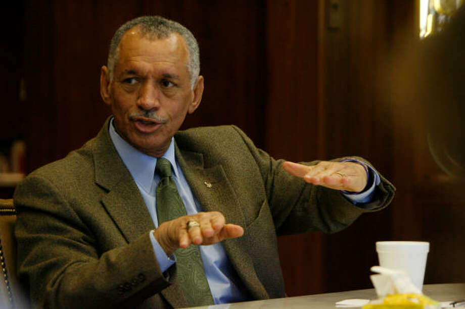 NASA chief Charles Bolden said putting humans on Mars by the 2030s, even the early 2030s, was viable if given a reasonable and sustained budget. Photo: Julio Cortez, Chronicle