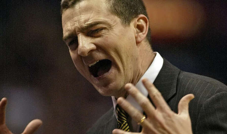 Wichita State coach Mark Turgeon is heading to College Station to take over the Texas A&M basketball program. Photo: TOM GANNAM, AP