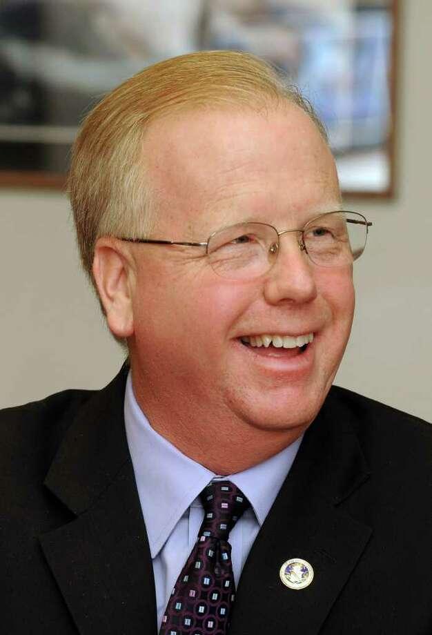 Mayor Mark Boughton of Danbury. Photo: Carol Kaliff