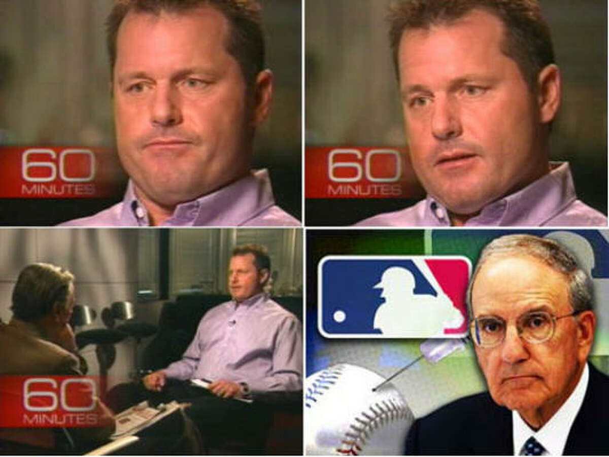 Roger Clemens is not happy that some people believe his trainer and not him.