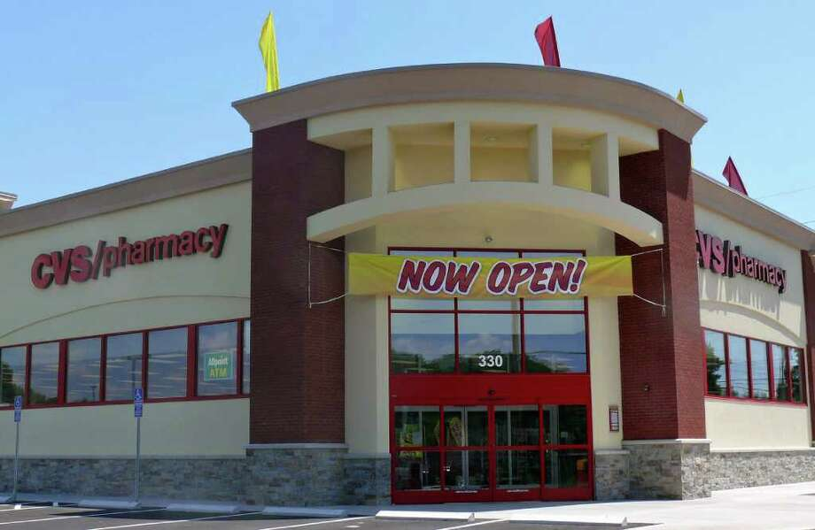 The CVS at the new Kings Crossing Shopping Center has opened for business. Photo: Genevieve Reilly / Fairfield Citizen