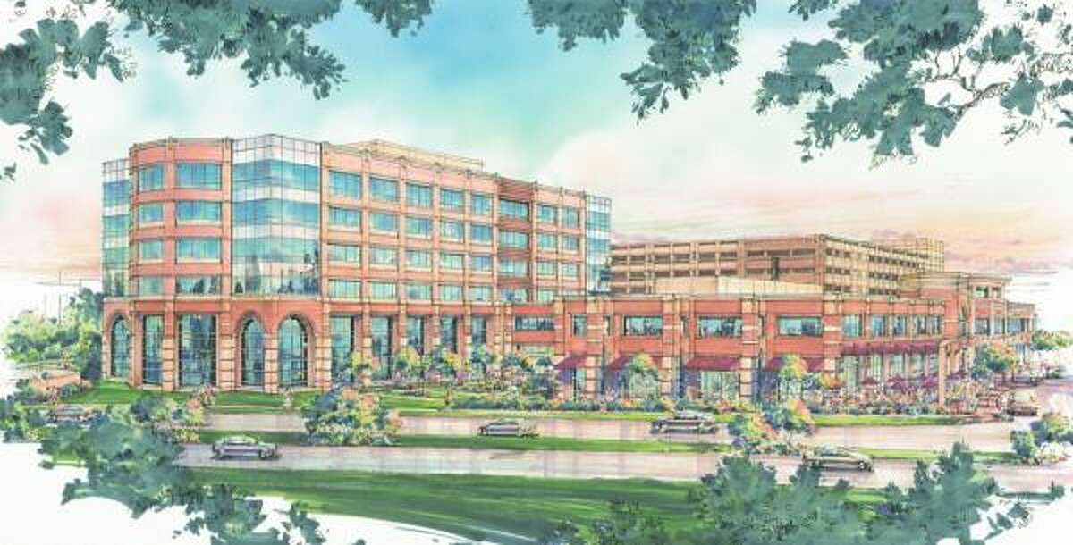 Construction will begin soon on Planned Community Developers' third office building in Sugar land Town Square.