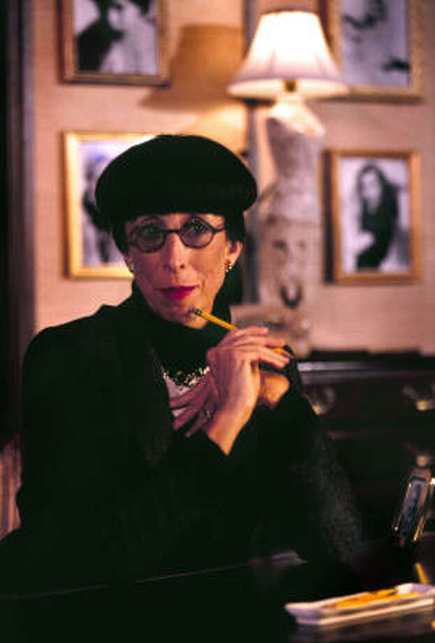"""Susan Claassen, pictured, portrays Edith Head in """"A Conversation with Edith Head."""" Photo: Courtesy Photo"""