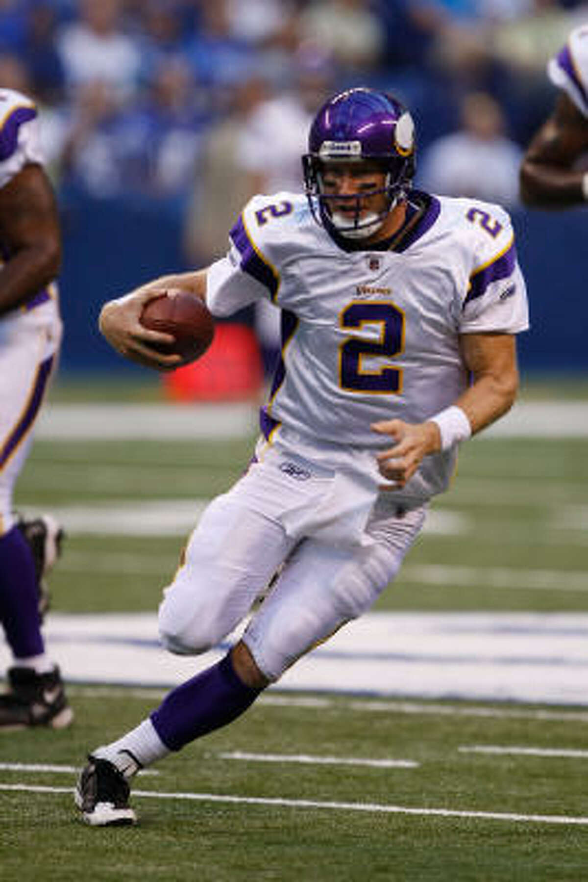 Locally, there's excitement about Brett Favre, of course, but there also is an appreciation for Sage Rosenfels, who was 6-4 as a starter the last two seasons when Matt Schaub was injured or ill.