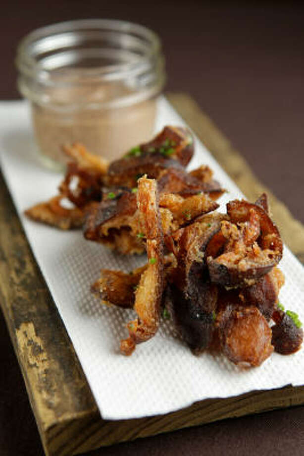 Ham hock crackings Photo: Melissa Phillip :, Chronicle