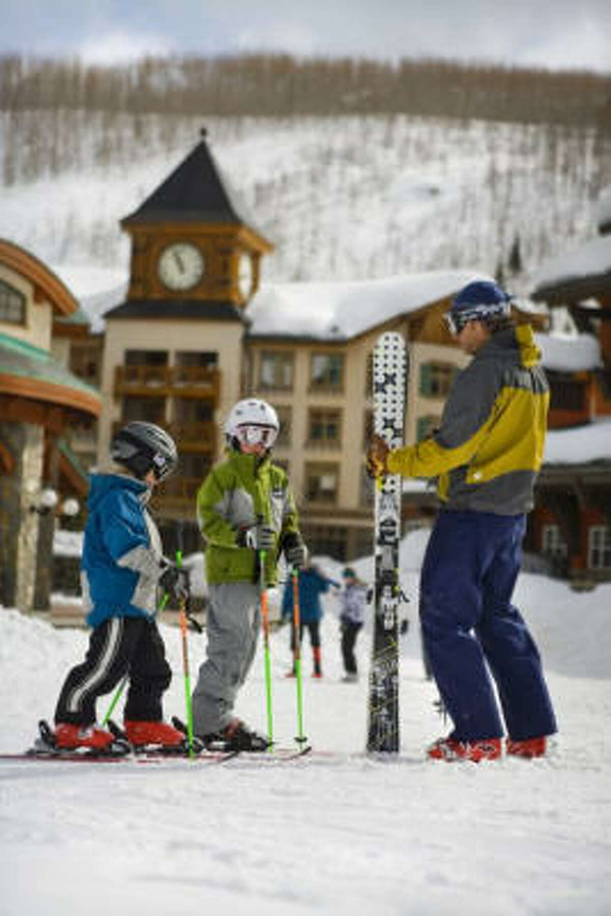 Solitude Mountain Resort caters to skiers of all ages.