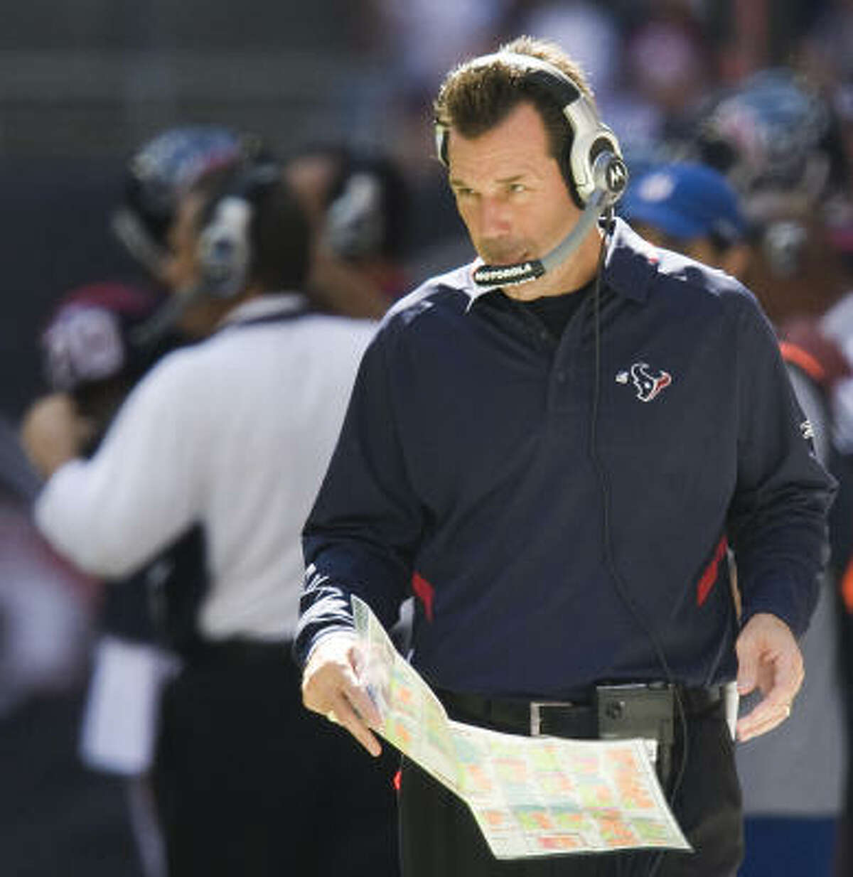 Gary Kubiak's record as an NFL head coach is the same as that of Jeff Fisher though Fisher's first 60 games.