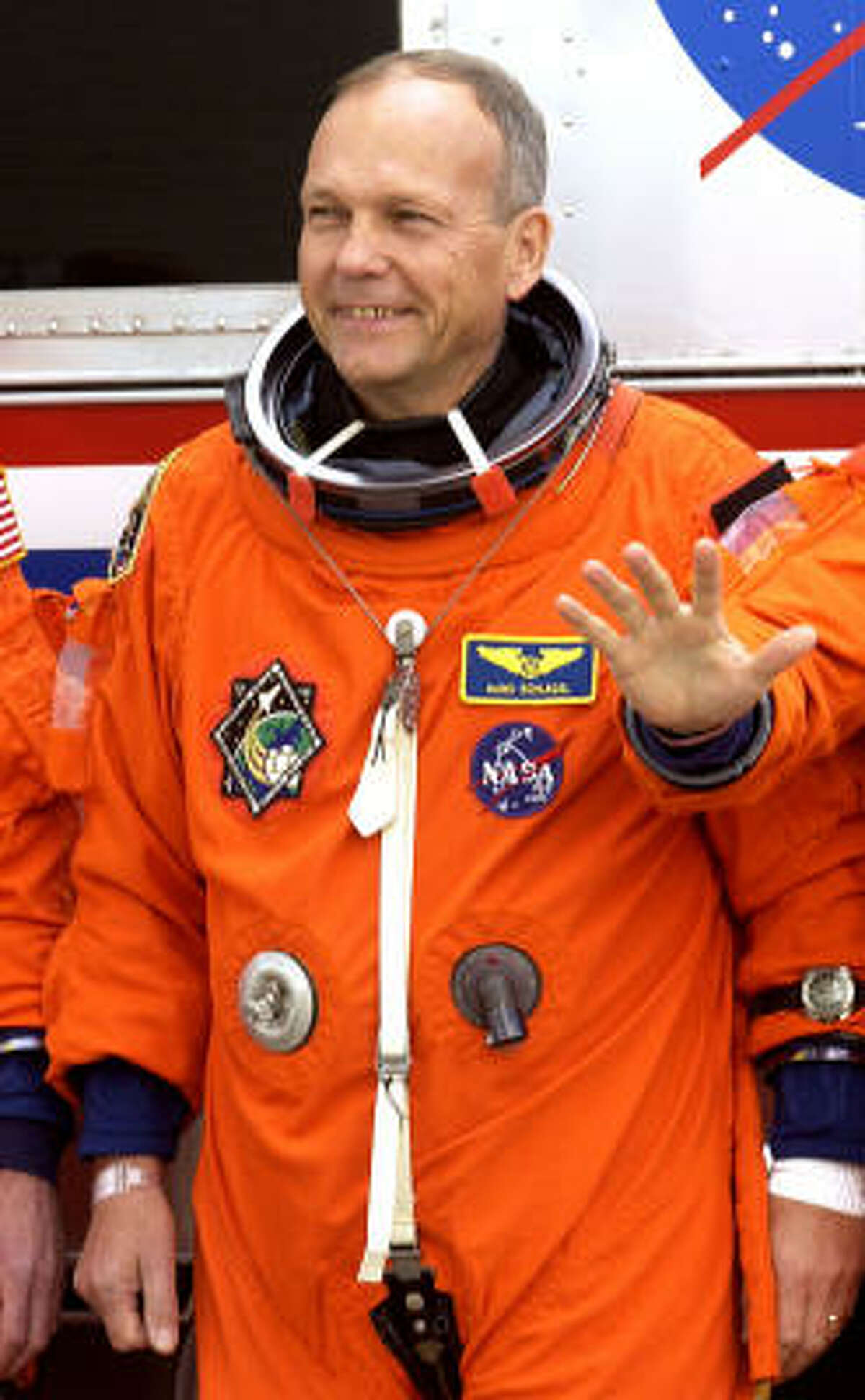NASA said German astronaut Hans Schlegel's illness was not life-threatening.