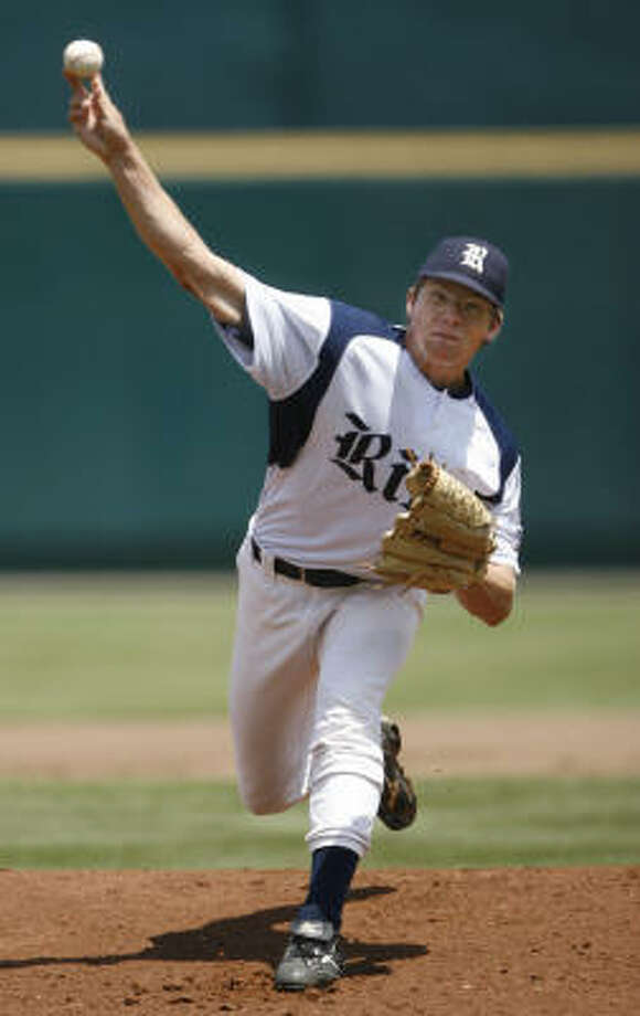 Ryan Berry earned his first career save in Rice's C-USA tournament championship win over Southern Miss. Photo: Chronicle File Photo