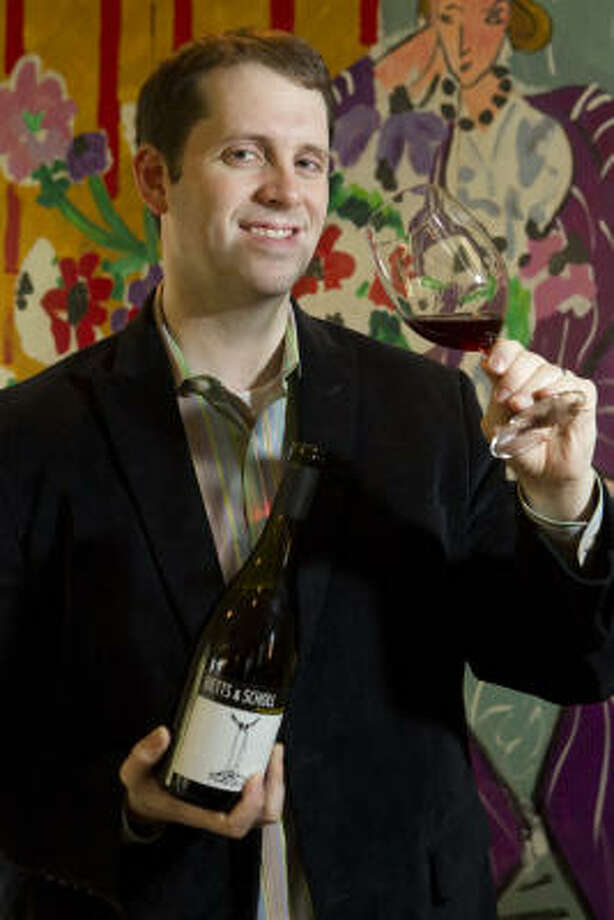 Sean Beck, sommelier at Backstreet Cafe, will defend his Iron Sommelier title armed with an arsenal of grenaches. Photo: BRETT COOMER :, Chronicle