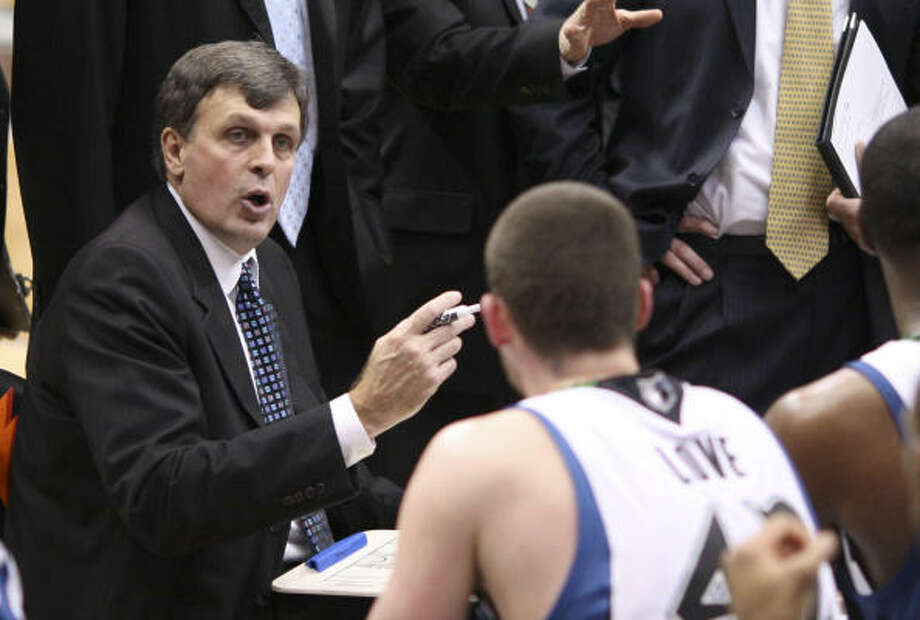 Kevin McHale went 39-55 in two brief two coaching stints with the Timberwolves. Photo: Jeff Wheeler, MCT
