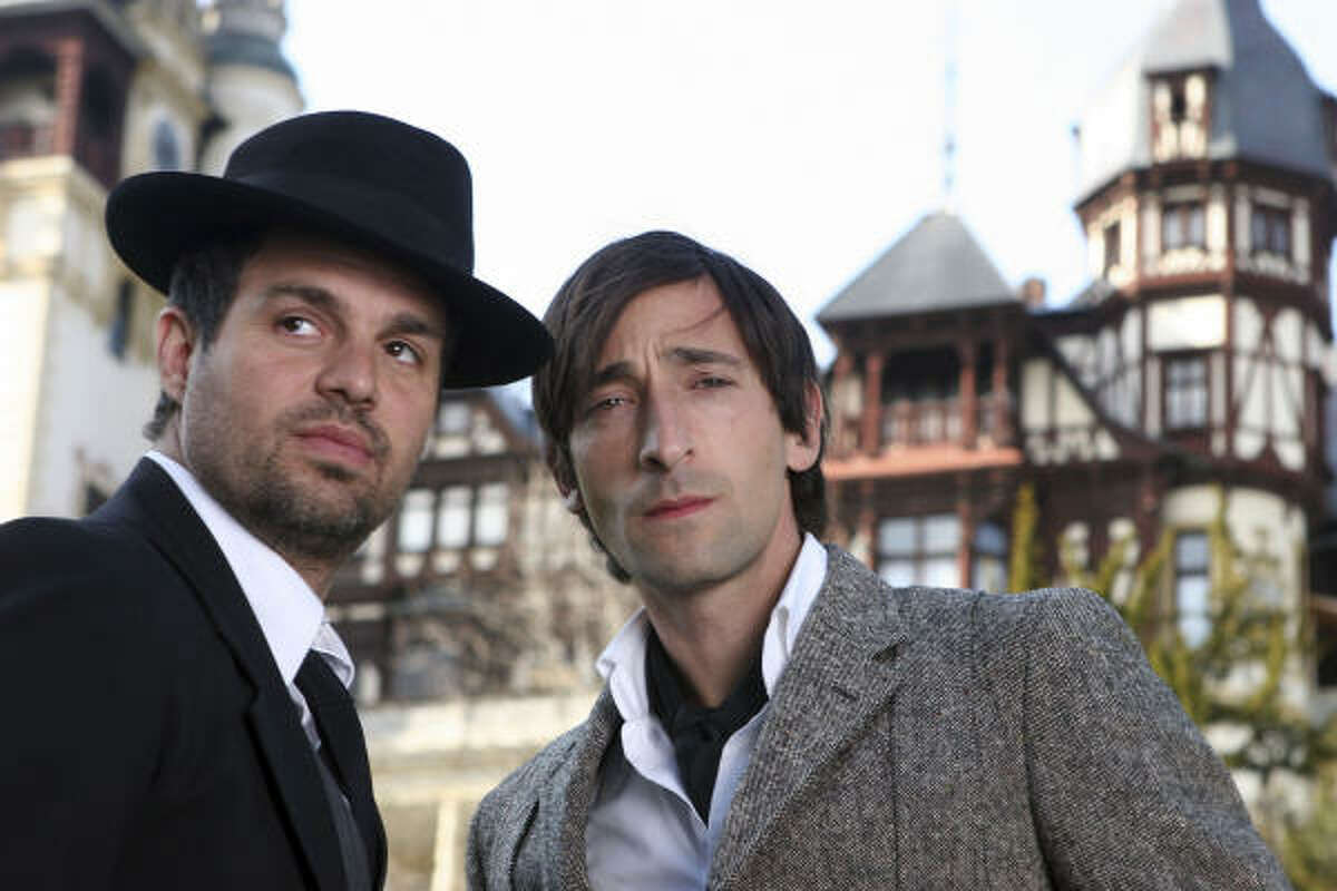 Mark Ruffalo, left, and Adrien Brody star in The Brothers Bloom.