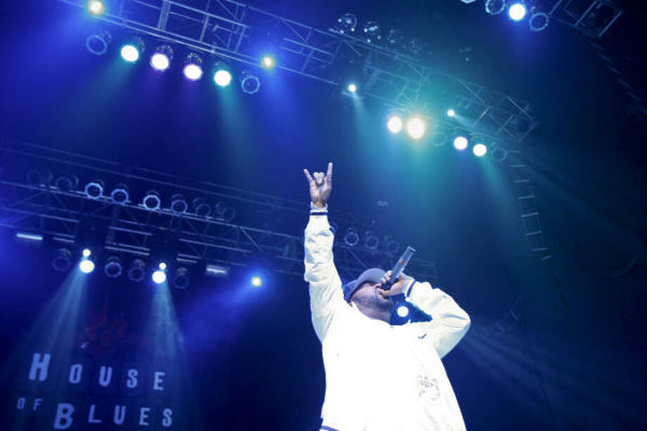 Bun B performs at the House of Blues in Houston. Photo: Michael Paulsen, Chronicle