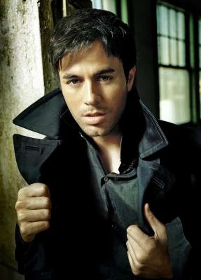 Insomniacis Enrique Iglesias' first English-language album in four years. Photo: INTERSCOPE RECORDS
