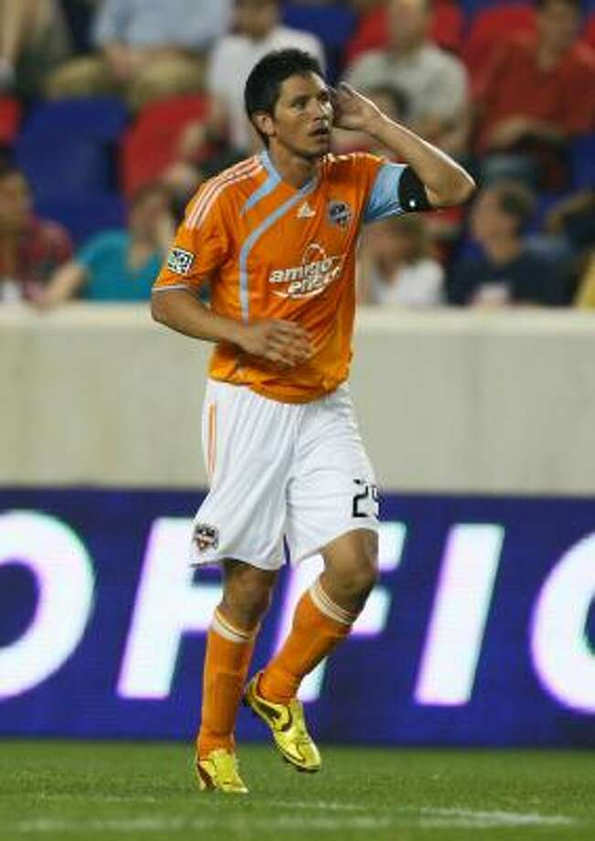 Brian Ching is a star for the Dynamo, but doesn't rank as high in popularity like a LeBron James would. Photo: Mike Stobe, Getty Images For New York Red Bu