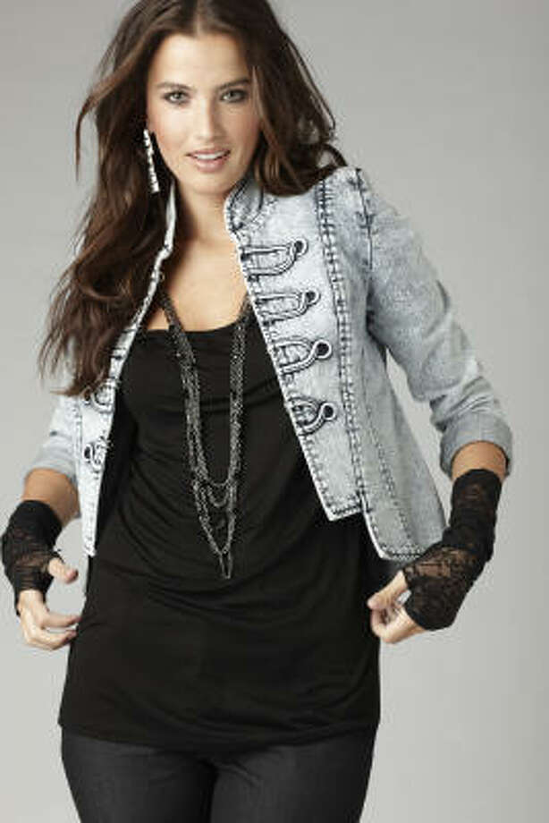 A military jacket from Allen B. by Allen B. Schwartz is $34.99 at J.C. Penney. Photo: J.C. Penney
