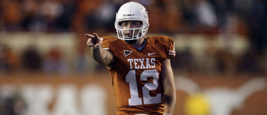 Thursday, the third-ranked Longhorns will have a chance to rectify what they see as a glaring problem on their résumé. Photo: TOM REEL, SAN ANTONIO EXPRESS-NEWS