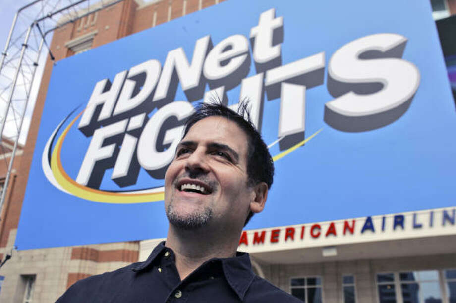 The major leagues need Mark Cuban. The mixed martial arts already have him. Photo: LM Otero, AP