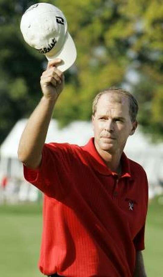 Steve Stricker is enjoying golf again. Photo: NAM Y. HUH, ASSOCIATED PRESS