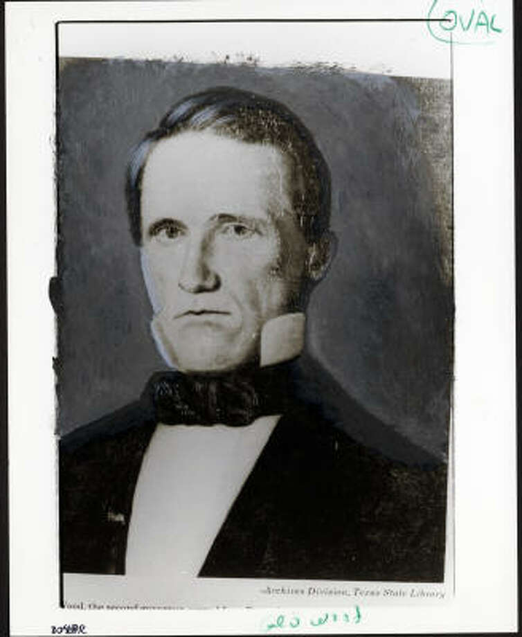 Gov. George T. Wood did not wear socks to his inauguration in 1847, but then he apparently chose not to wear them during his entire term. He was voted out in two years. Photo: Gov.George.T.Wood, Chronicle File