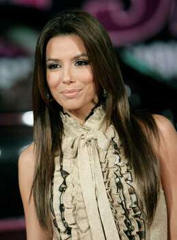 Eva Longoria arrives at the 2007 Victoria's Secret Fashion Show in Los Angeles on Thursday, Nov. 15 , 2007. Photo: Matt Sayles, AP / A-SAYLES