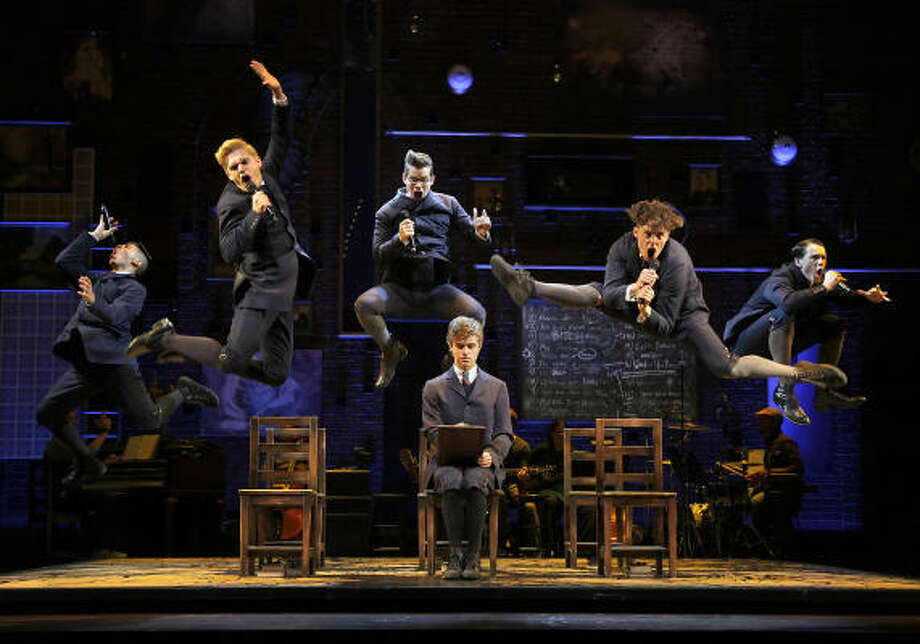 "The touring Broadway version of ""Spring Awakening."" TUTS will produce a local production during the 2019-20 season.  Photo: Paul Kolnik"
