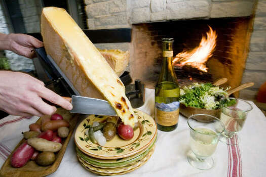 firing up a raclette feast houston chronicle. Black Bedroom Furniture Sets. Home Design Ideas