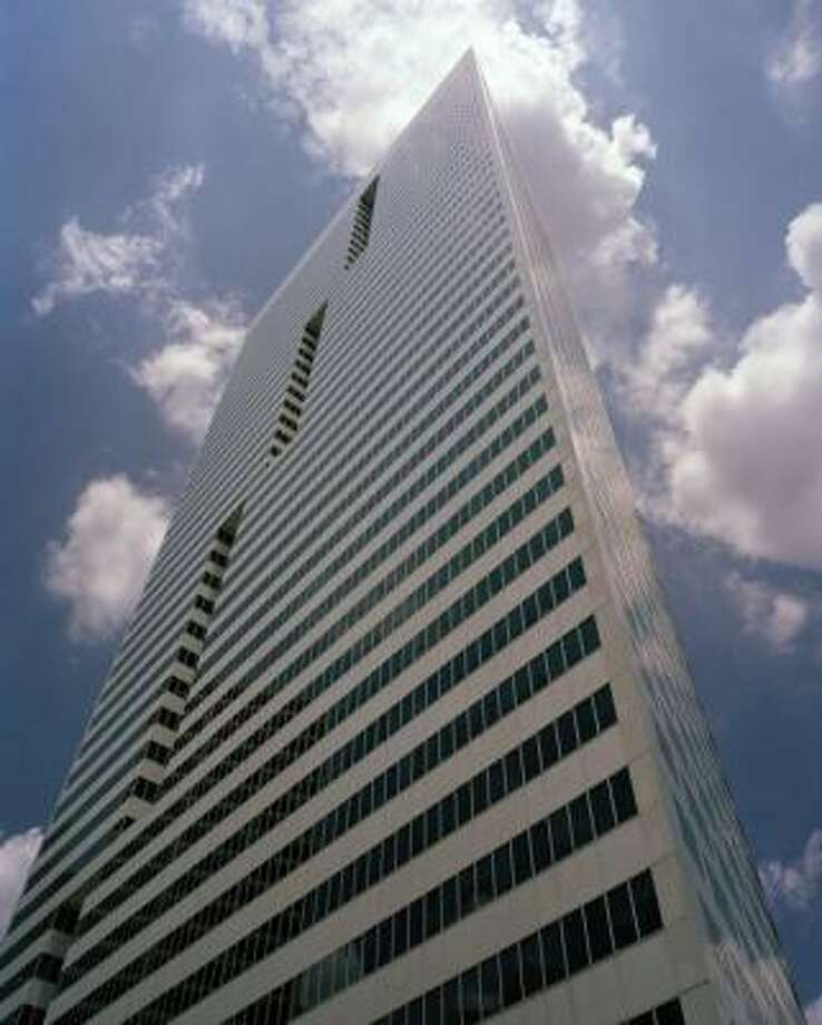 First City Towerin Houston: 662 feet, 49 stories Photo: COLVILLE OFFICE PROPERTIES