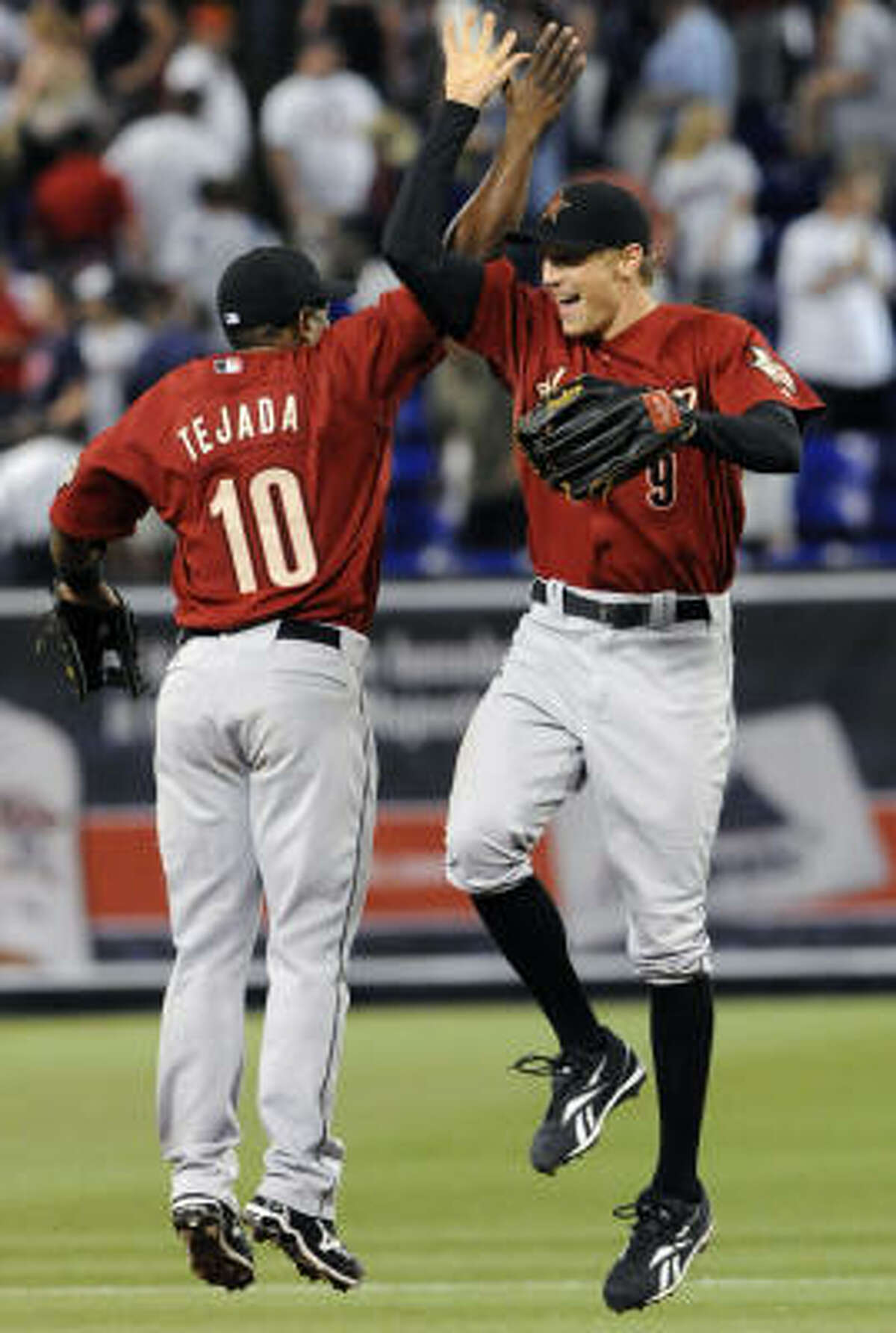 Shortstop Miguel Tejada and right fielder Hunter Pence will represent the Astros at the July 14 All-Star Game in St. Louis.