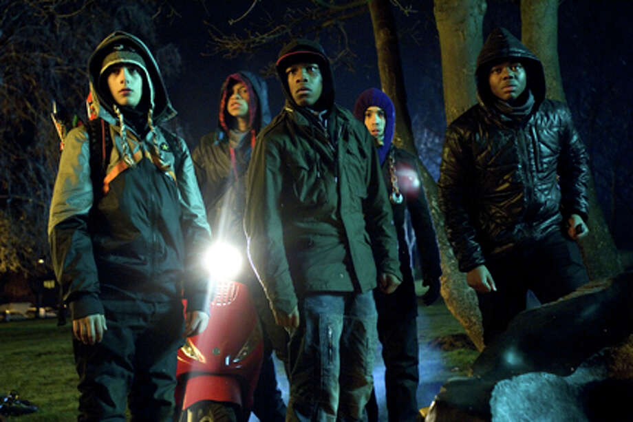 "A scene from ""Attack the Block."""
