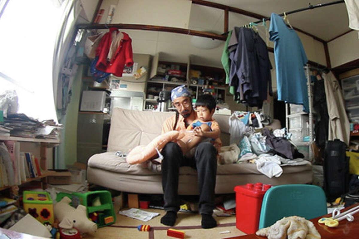 "(L-R) Hiroaki Aikawa and Taiji in ""Life in a Day."""