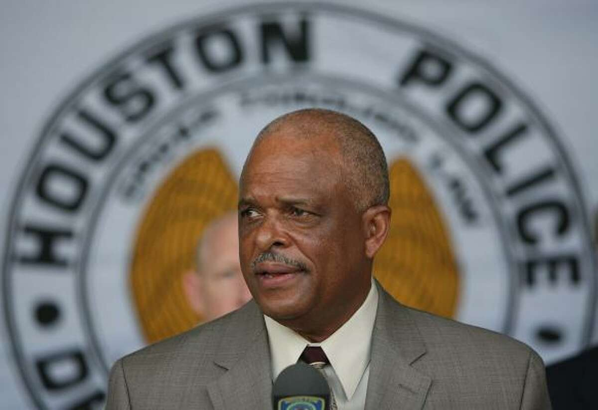 Former HPD Chief Harold Hurtt, 63, said Wednesday that he accepted the position as director of ICE's Office of State and Local Coordination.