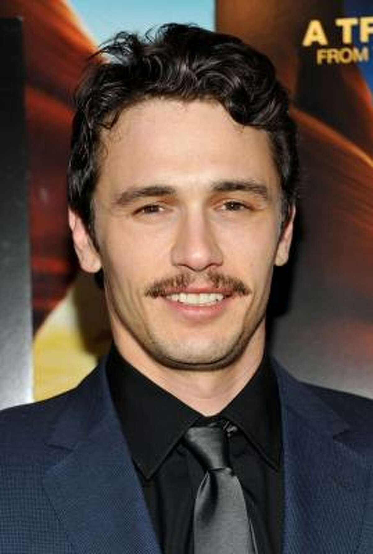 """In this Nov. 2, 2010, file photo, actor James Franco attends the """"127 Hours"""" film premiere at Chelsea Clearview Cinema in New York."""