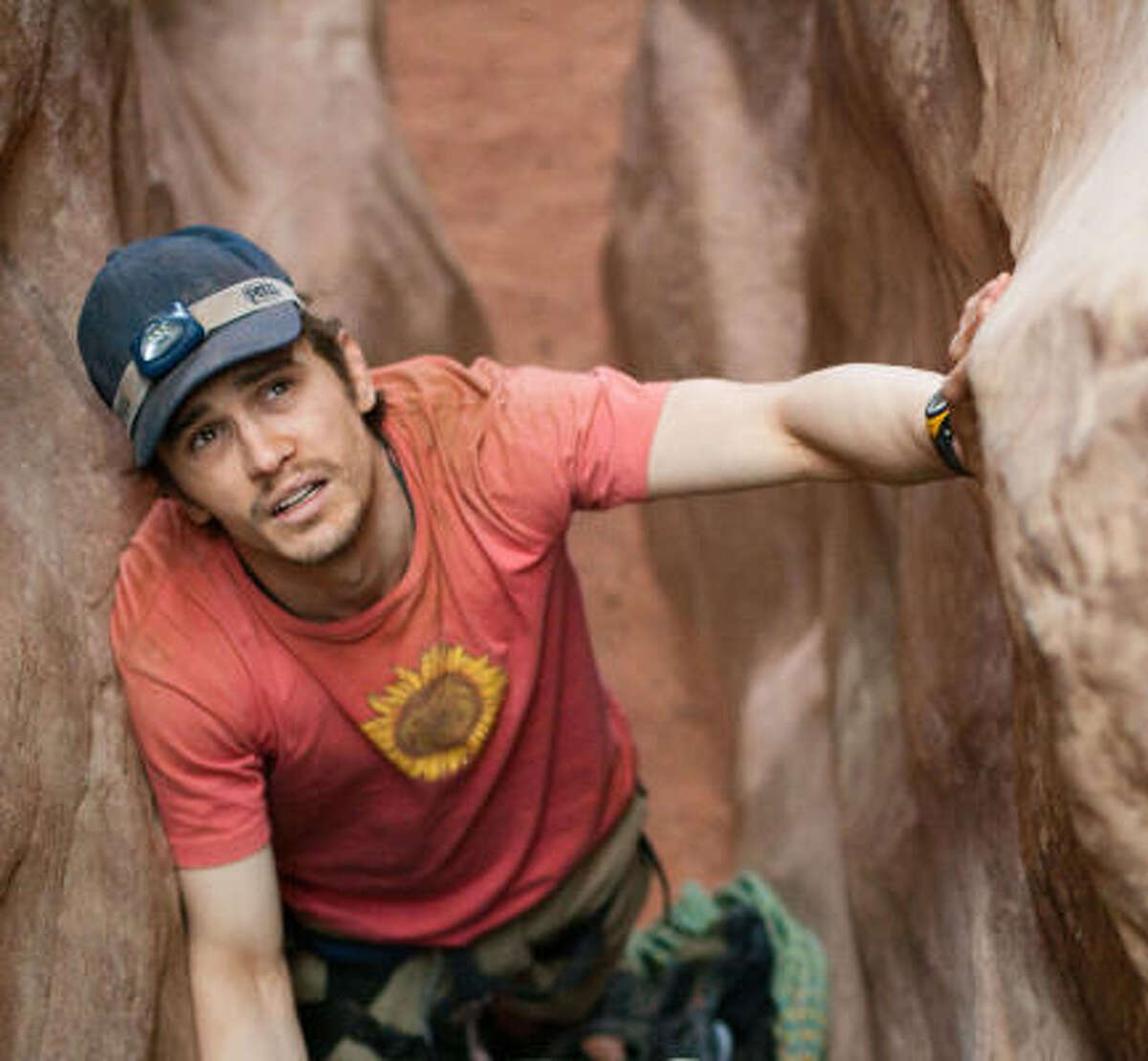 In this film publicity image released by Fox Searchlight Pictures, James Franco is shown in a scene from