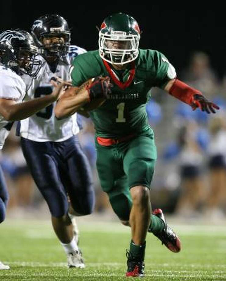 The Woodlands' Daniel Lasco is one of several top running back prospects in the Houston area this season. Photo: Chronicle File Photo