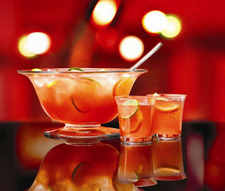Drinks such as Bacardi Party Punch ladled out of a big vessel have an inherently festive nature. Photo: Bacardi