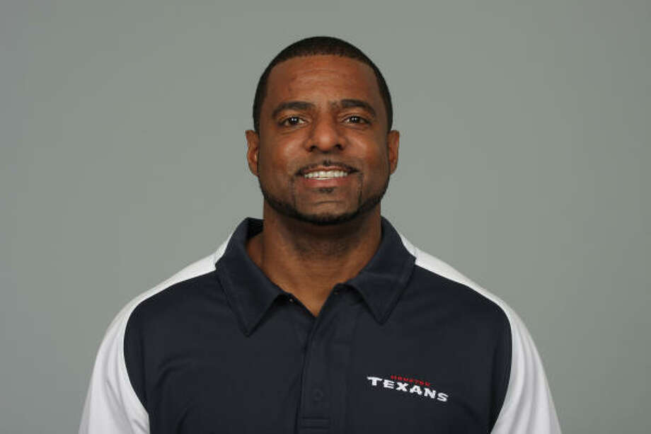 The Texans removed assistant from strength and conditioning coach Ray Wright's title on Monday. Photo: Houston Texans