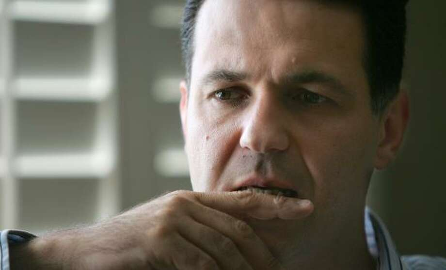Khaled Hosseini deftly humanizes the plight of Afghan women. Photo: JEFF CHIU, ASSOCIATED PRESS