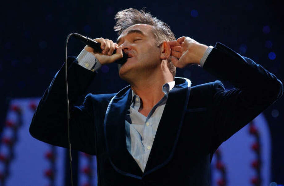 Morrissey's ego may be bigger than Texas itself.  Photo: YUI MOK :, ASSOCIATED PRESS