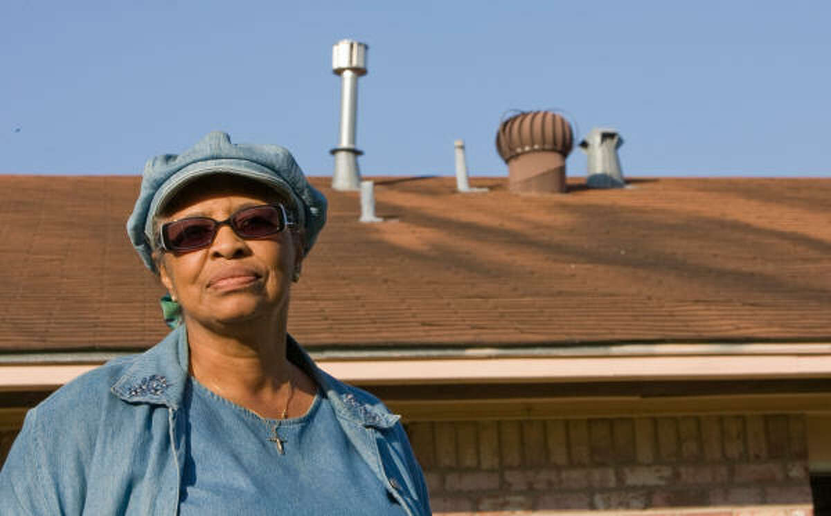 Ruby Miller is not satisfied with the amount of money that she has been offered by an insurance company for roof repairs.