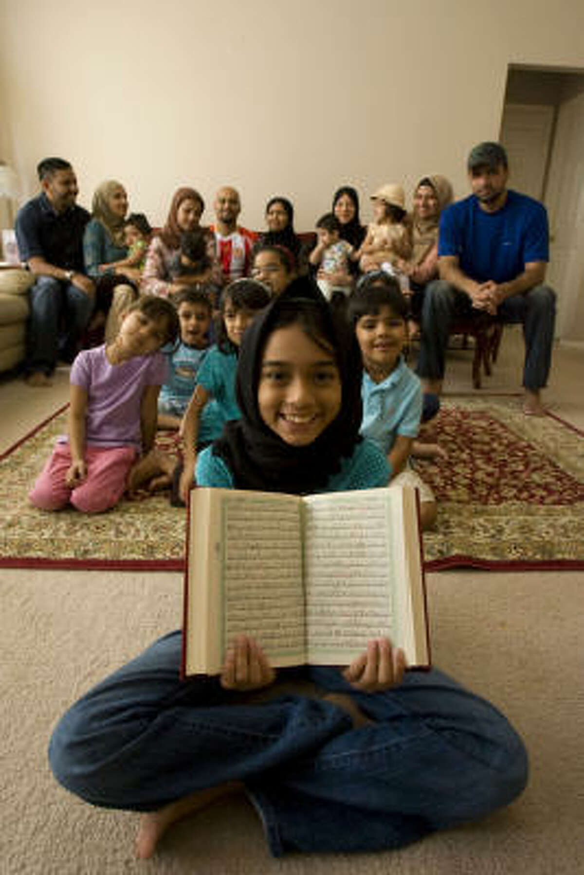 Members of the Jalali family of Sugar Land will fast and pray during Ramadan.