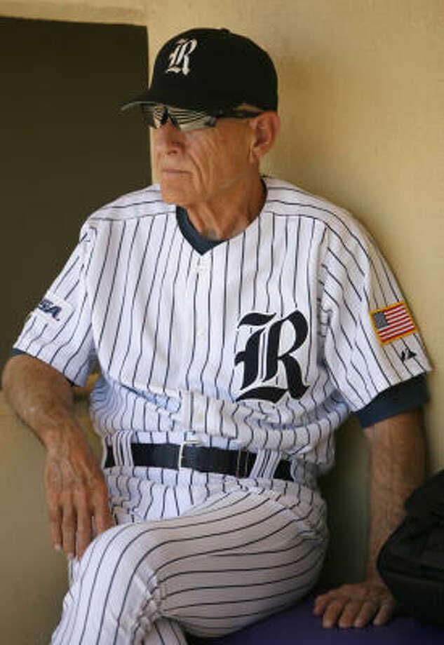 Rice coach Wayne Graham hasn't grown tired of that winning feeling. Photo: Karen Warren, Chronicle