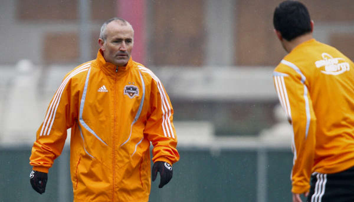 Dynamo head coach Dominic Kinnear added depth at goalkeeper and versatility to the midfield and back line in the supplemental draft.