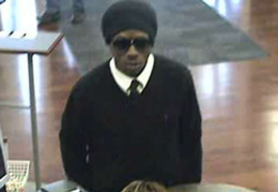 This man is linked to six bank heists in the Houston area, including two 30 minutes apart in Spring. Photo: FBI